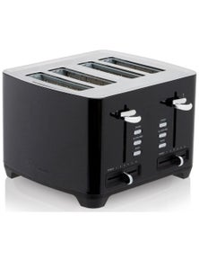 Westinghouse 4 Slice Deluxe Toaster - Black