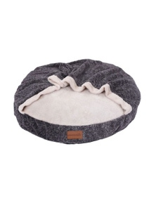 PawsClaws 70x70cm Primo Plush Blanket BedCharcoal