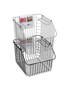 Box Sweden Wire Stacking Basket-Assorted