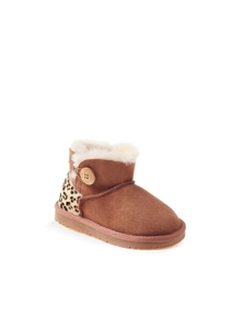 Ozwear UGG Kids Mini Button Boots