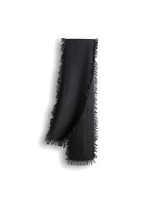 Ozwear UGG Fringed Check Wool Scarf