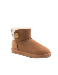 Ozwear UGG Womens Classic Mini Button Boots