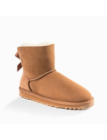 Ozwear UGG Womens Classic Mini Bailey Bow Water Resistant Boots