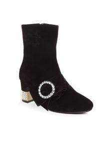 Ozwear UGG Womens Josie Embellished Block Boots