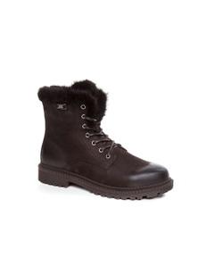 Ozwear UGG Womens Brynn Fur Trimming Boots