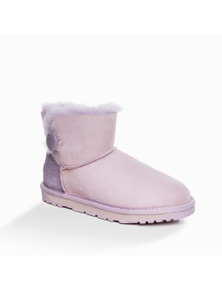 Ozwear UGG Womens Classic Sparkling Mini Button Boots