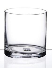 Sherwood Cylindrical Vase - 16hx13w