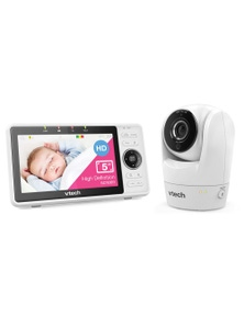 Vtech 5 Inch Smart Wifi 1080P Hd Baby Monitor and Camera