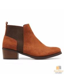 GROSBY Nola Boots Low Heel Winter Work Casual Flats Low Wedge Comfortable
