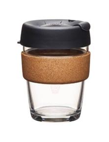 Keepcup Brew Cork Med 12oz - Espresso