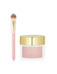 Mary Grace Sensitive Face Mask & Applicator Brush Duo