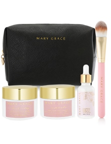 Mary Grace Three Step Skincare + Free Darling Pouch