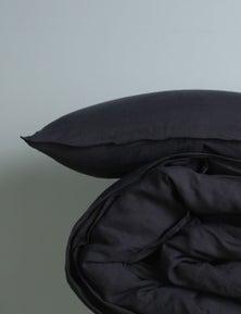 MHome Bed Linen Range Pillowcase Double Stitch 2PK