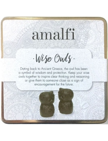 Amalfi Wise Owls Set Of 2