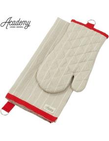 ACADEMY 2pcs Tea Towel & Oven Glove Set Fitzgerald Kitchen Home Goods Mitt