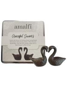 Amalfi Graceful Swans Set Of 2