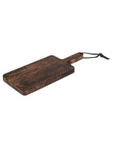 Amalfi Ethnique Rectangular Paddle Board Serving Platter Cheese - 48X20cm
