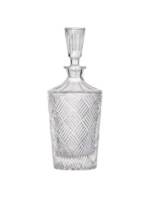 Davis & Waddell Fine Foods Grande Glass Decanter 900ml