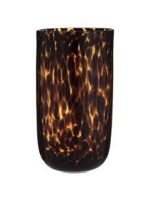 Amalfi Ember Vase - Amber