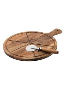 Davis & Waddell DMA0084 Maverick Flinders Pizza Board and Wheel Wood