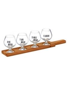 Maverick Beer Tasting Paddle Set 5Pc
