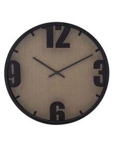 Amalfi 40Cm Boca Wall Clock - Black