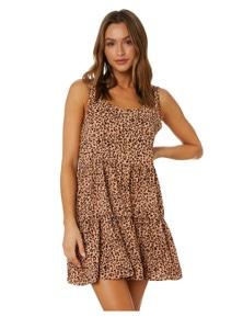 All About Eve Women's Blushing Mini Dress Sleeveless Cotton