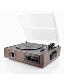 mbeat 2-in-1 USB Turntable and Cassette Digital Recorder