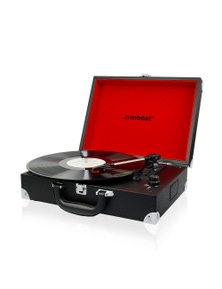 mbeat Retro Briefcase-styled USB Turntable Recorder