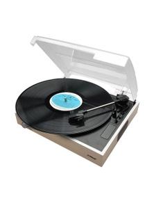 mbeat Slim Wooden Style USB Turntable Recorder
