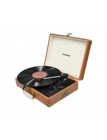 mbeat Aria Retro Turntable w-USB Recording and Bluetooth Speaker