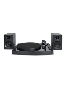 mbeat Pro-M Bluetooth Streaming Stereo Turntable System - Black