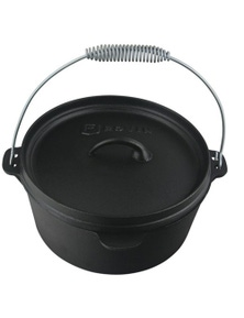 TechBrands Cast Iron Camp Oven 4 Quart 3.8L Dutch Oven (4Qt 280x150mm)