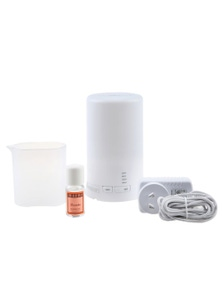 Sherwood Home Aromatherapy Ultrasonic Diffuser with Free Lavander Oil and Light