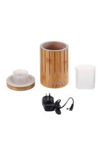 Sherwood Bamboo Ultrasonic Aromatherapy Essential Oil Diffuser – Wood Grain