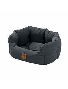 Charlie's Pet VIP Luxury Waterproof High Walled Nest - Charcoal - Small