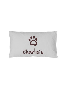 Charlie's Pet Big Charlie Print Pillowcase Cover