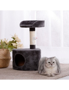 Charlie's Pet Cat Tree with Round House