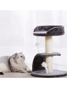 Charlie's Pet Cat Tree with Scratching Slope