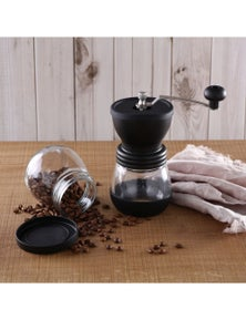 Sherwood Home Filter Brew Manual Coffee Grinder with 2 Storage Containers