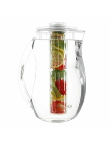 Sherwood Home Fruit Infuser and Ice Water Jug 2.8L