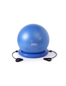 Zen Flex Fitness Training Yoga Ball-Base and Resistance band