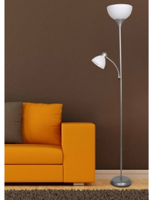 Sherwood Lighting Sprout Flour Uplighter and Reading Floor Lamp