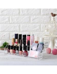 Home Living Beauty 3 Tier Acrylic Nail Polish Stand