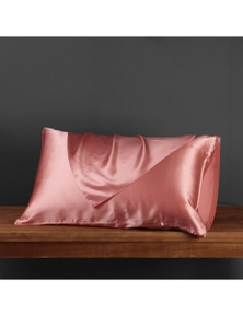 Natural Home Luxe Mulberry Silk Pillowcase 25 Momme Standard Pillowcase 48 x 73cm