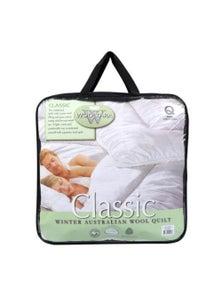 Wooltara Classic 450 GSM Winter Australian Wool Quilt