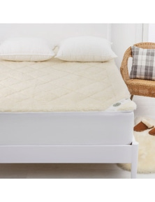 Wooltara Imperial Luxury 2 Layer Reversible Washable Australian Wool Underblanket
