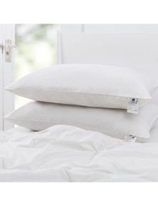 Wooltara Australian Wool Rich Pillow Medium Profile
