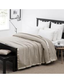 Wooltara Luxury 350Gsm Alpaca Wool Blanket