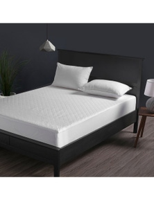 Dreamaker Cotton Quilted Waterproof Mattress Protector - Super King Bed